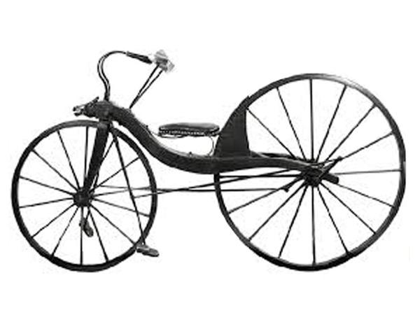 Первый велосипед Пьера Лалльмана