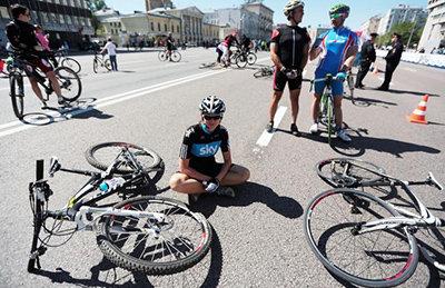 Когда точно нужен велошлем