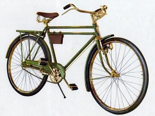 Велосипед 1950 года
