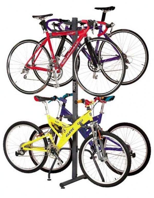 Стойка для велосипедов и шлемов