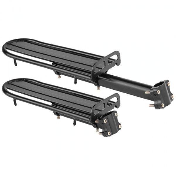 """Купить Багажник 26-28"""" ZLYJ-702 AL чёрный в интернет магазине велосипедов. Выбрать велосипед. Цены, фото, отзывы"""