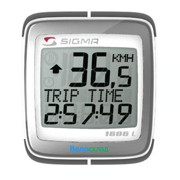 Велокомпьютер Sigma BC-1606L Topline
