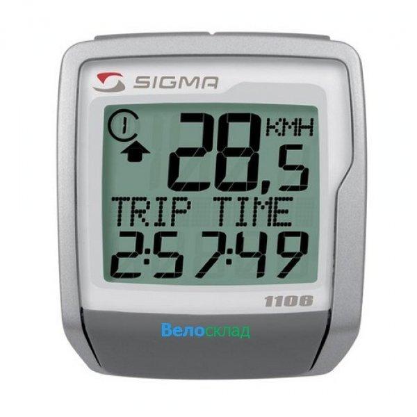 Купить Велокомпьютер Sigma BC-1106 Topline в интернет магазине велосипедов. Выбрать велосипед. Цены, фото, отзывы
