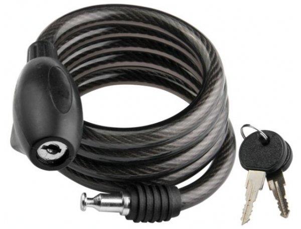 Купить Трос-замок GK102-102 12x1200мм в интернет магазине велосипедов. Выбрать велосипед. Цены, фото, отзывы