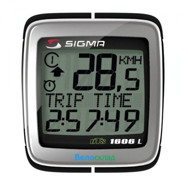 Велокомпьютер Sigma BC-1606L DTS Topline