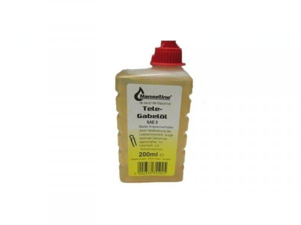 Смазка Hanseline MTB SAE5 жидкая для вилок и аморт.200мл