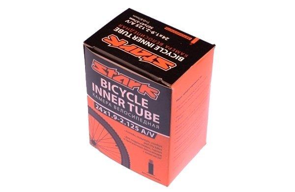 Купить Камера Stark 20*1,75 - 2,125 A/V в интернет магазине велосипедов. Выбрать велосипед. Цены, фото, отзывы