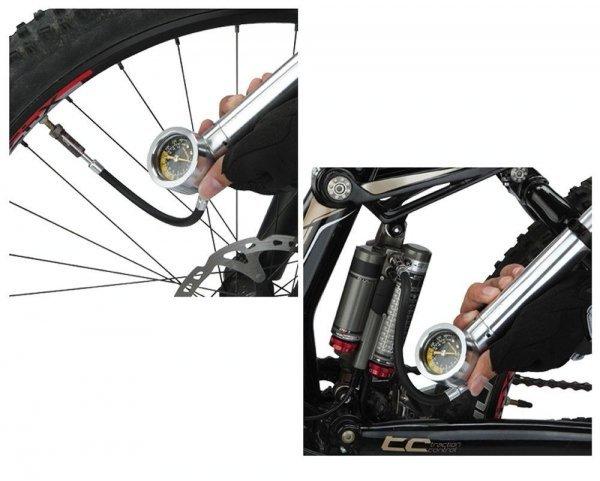 Купить Насос Topeak TNSR-1 Shock n Roll в интернет магазине велосипедов. Выбрать велосипед. Цены, фото, отзывы