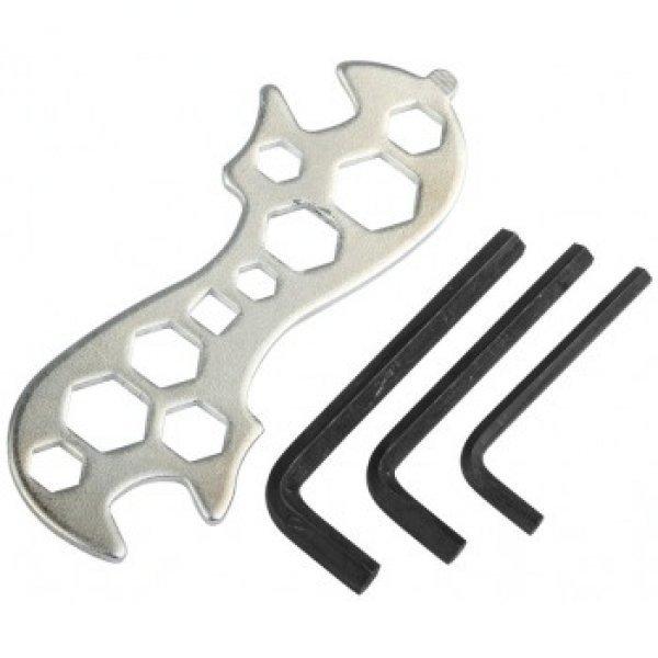 Набор инструментов (шестигранники+ключ комбинир.)