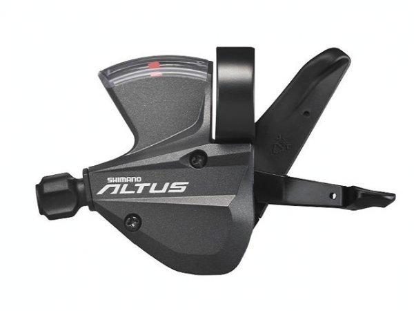 Купить Шифтер Altus, M370, лев/пр, 3x9, тр.+оплетк в интернет магазине велосипедов. Выбрать велосипед. Цены, фото, отзывы