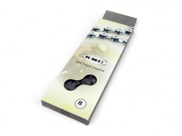 Купить Цепь KMC Z72 на 8 передач, 116 зв., тем. серая (C) в интернет магазине велосипедов. Выбрать велосипед. Цены, фото, отзывы