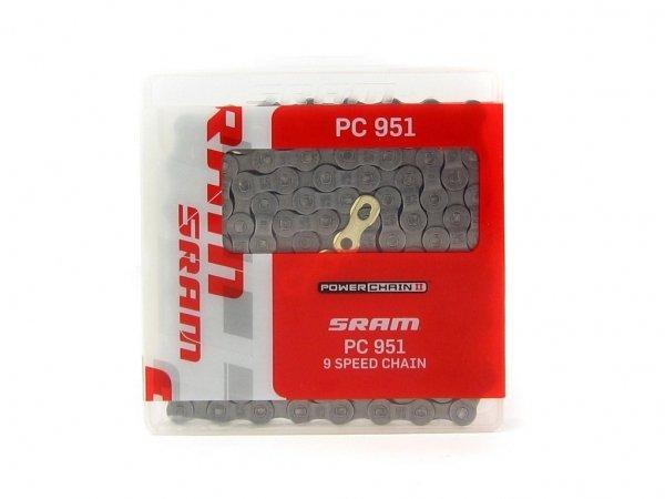 Купить Цепь SRAM PC-951+PowerLink 9 ск. в интернет магазине велосипедов. Выбрать велосипед. Цены, фото, отзывы