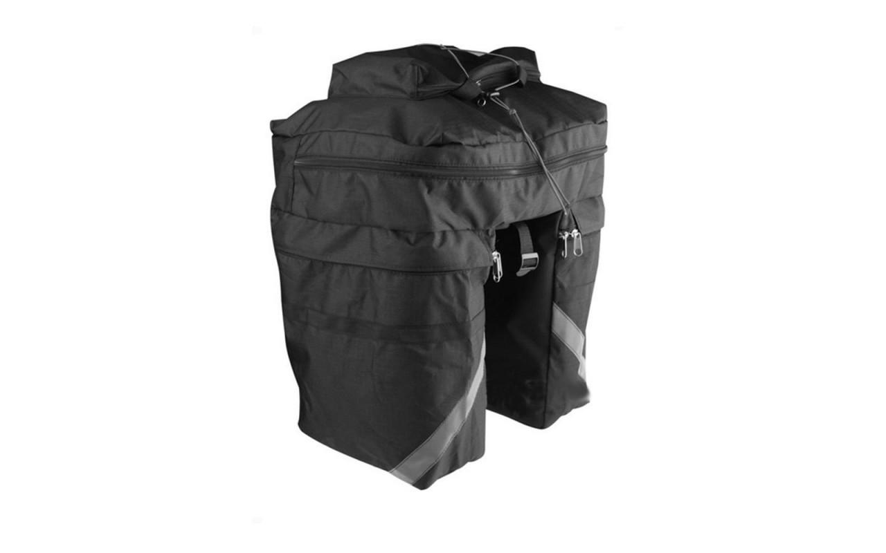 Купить Велосумка на багажник 30л вр 021 в интернет магазине велосипедов. Выбрать велосипед. Цены, фото, отзывы