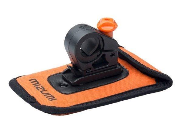 Крепление телефона на руль Mizumi HoldOn 140*80mm оранжевое