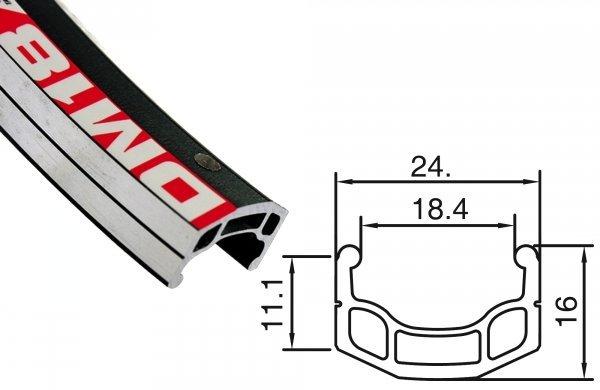 Купить Обод 24ʺ DM-18 Alexrims 32H в интернет магазине велосипедов. Выбрать велосипед. Цены, фото, отзывы