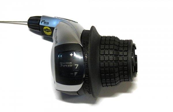 Шифтер Tourney, RS45-7R, правый, 7ск, тр. 2050мм.