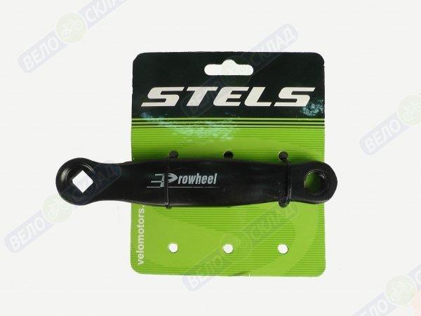 Купить Шатун левый Stels MAS-100 152мм, под ромб, сталь в интернет магазине велосипедов. Выбрать велосипед. Цены, фото, отзывы