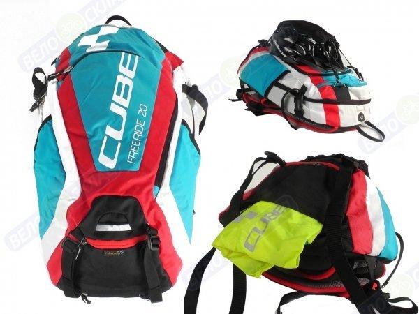 Купить Рюкзак Cube Freeride 20L в интернет магазине. Цены, фото, описания, характеристики, отзывы, обзоры