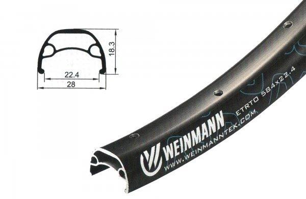 Купить Обод 27.5ʺ (650B맠 x 22.40) U28 Weinmann 32H в интернет магазине велосипедов. Выбрать велосипед. Цены, фото, отзывы