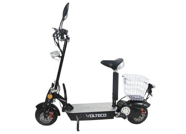Купить Электросамокат Volteco Hammer 1000 в интернет магазине велосипедов. Выбрать велосипед. Цены, фото, отзывы