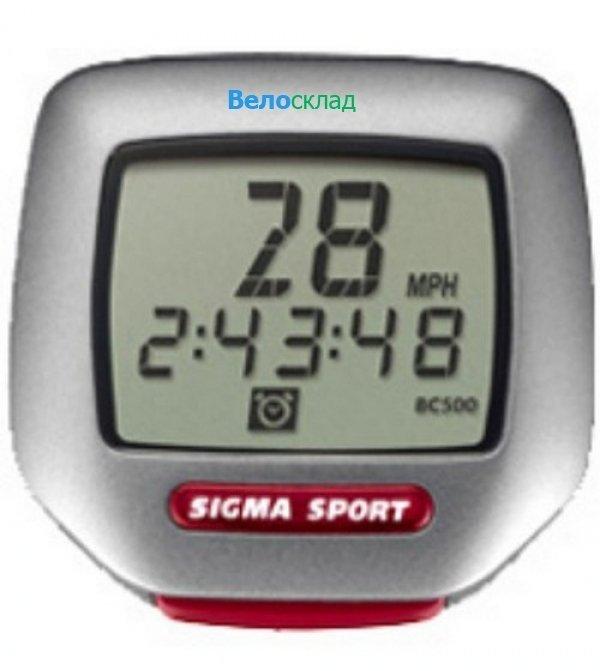 Велокомпьютер Sigma BC-500 Topline