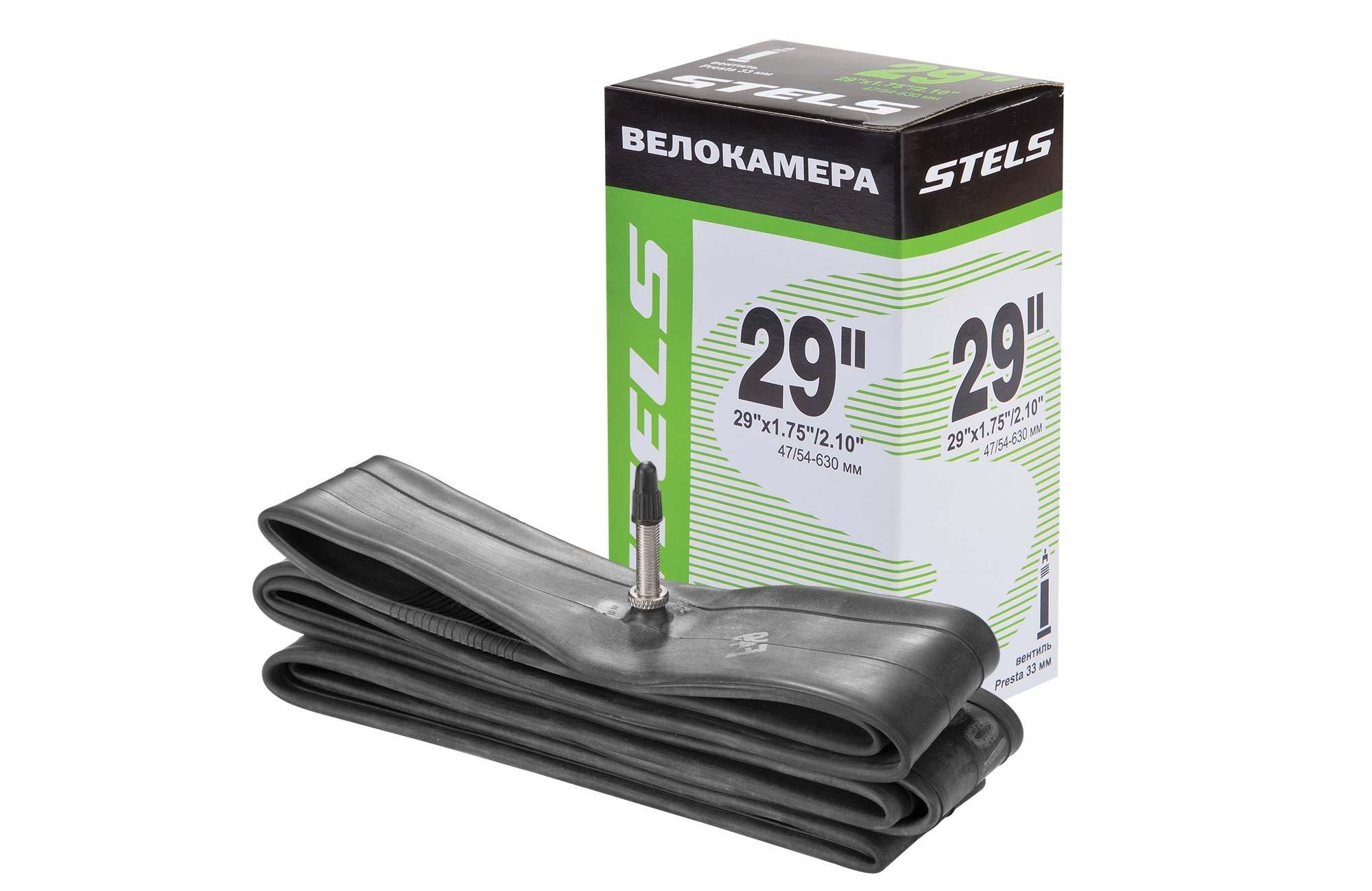 Камера Stels 29 x 1.75/2.10ʺ с велониппелем