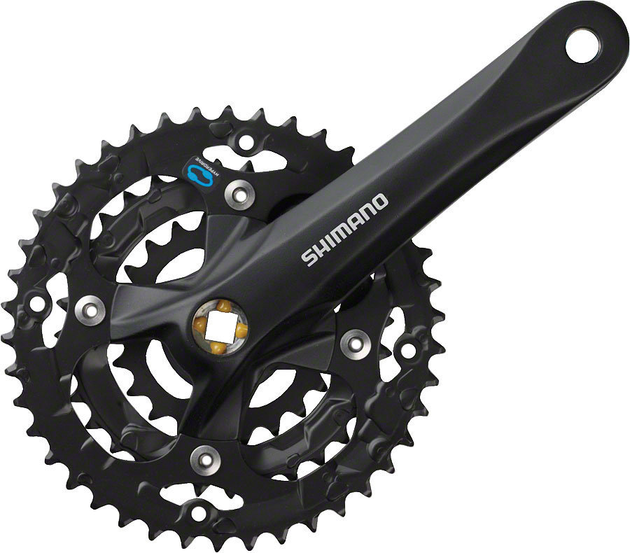 Купить Система Shimano Acera M361, 175мм, Кв, 42ቼቲ в интернет магазине велосипедов. Выбрать велосипед. Цены, фото, отзывы