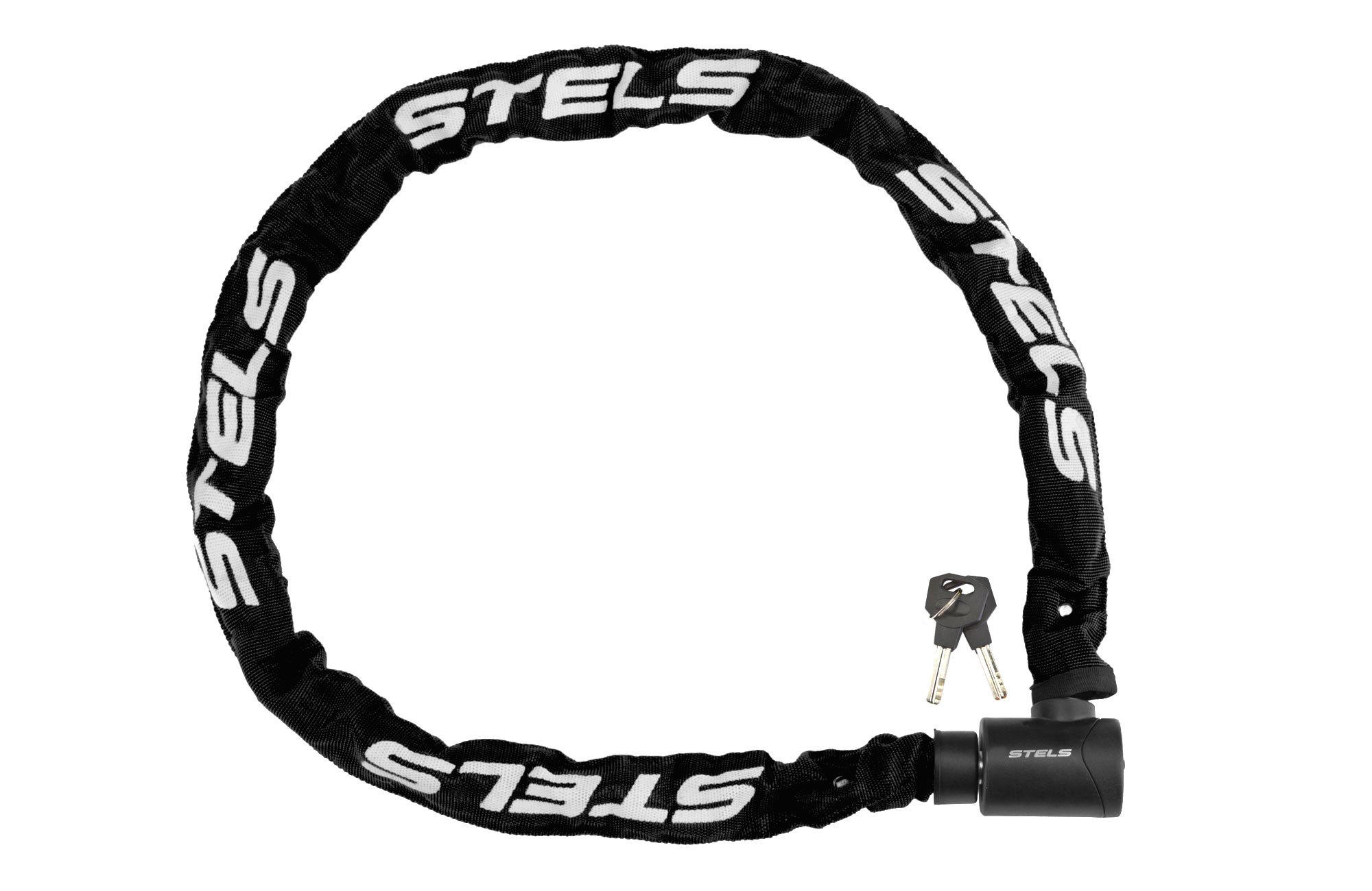 Велозамок Stels 85803 (6x1200мм) цепь с ключом