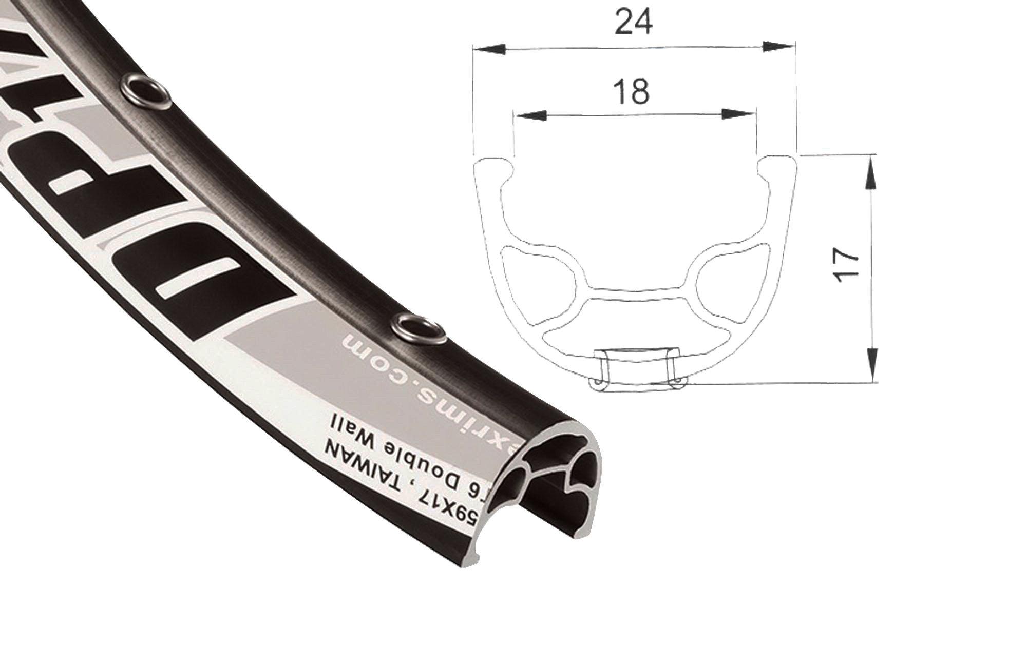 Купить Обод 28x36H DP-17 в интернет магазине велосипедов. Выбрать велосипед. Цены, фото, отзывы