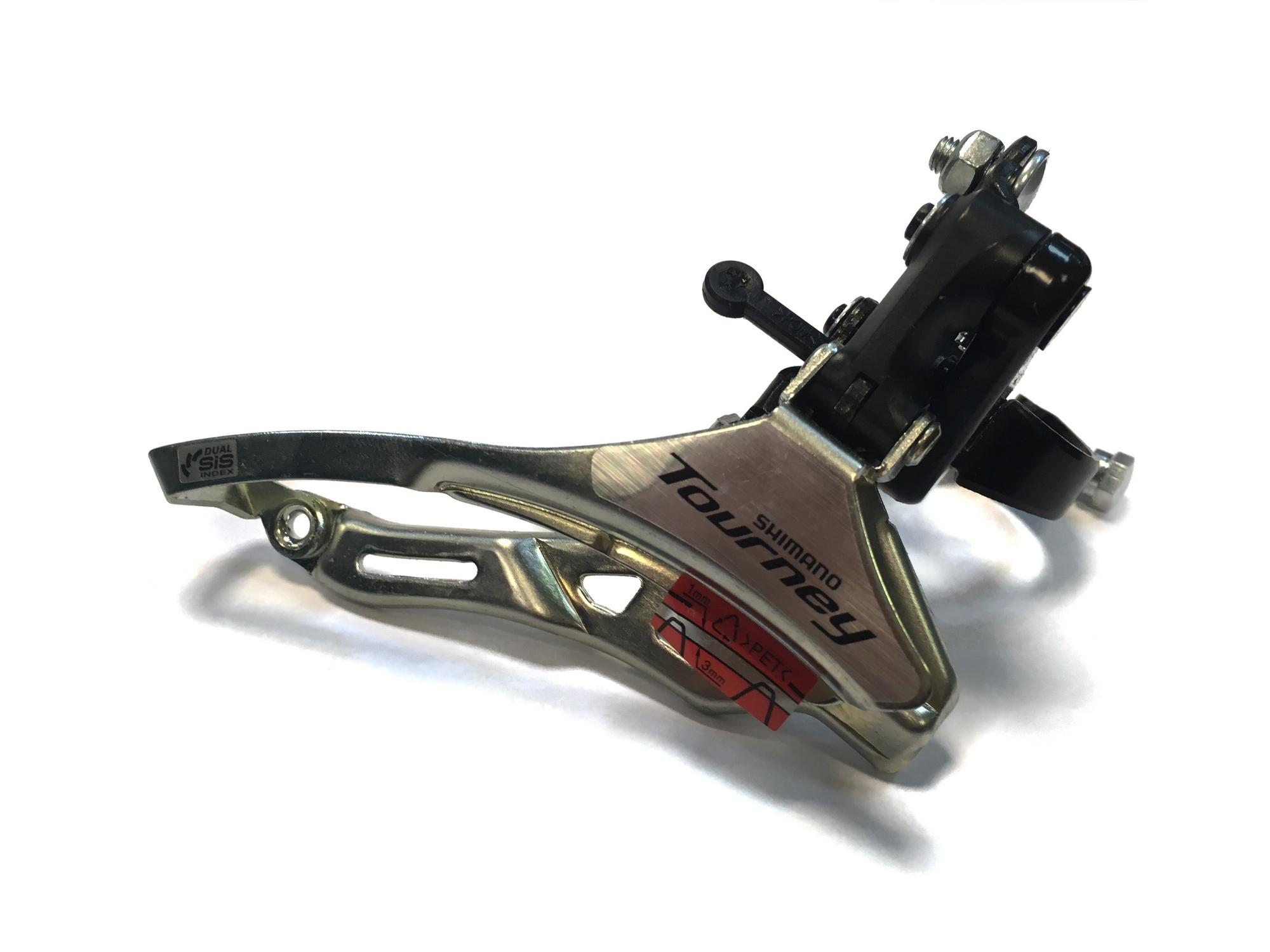 Переключатель передний FD-TY300 31,8 мм, нижн. тяга