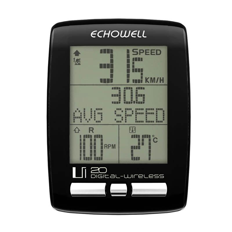 Купить Велокомпьютер Echowell Ui20 в интернет магазине велосипедов. Выбрать велосипед. Цены, фото, отзывы