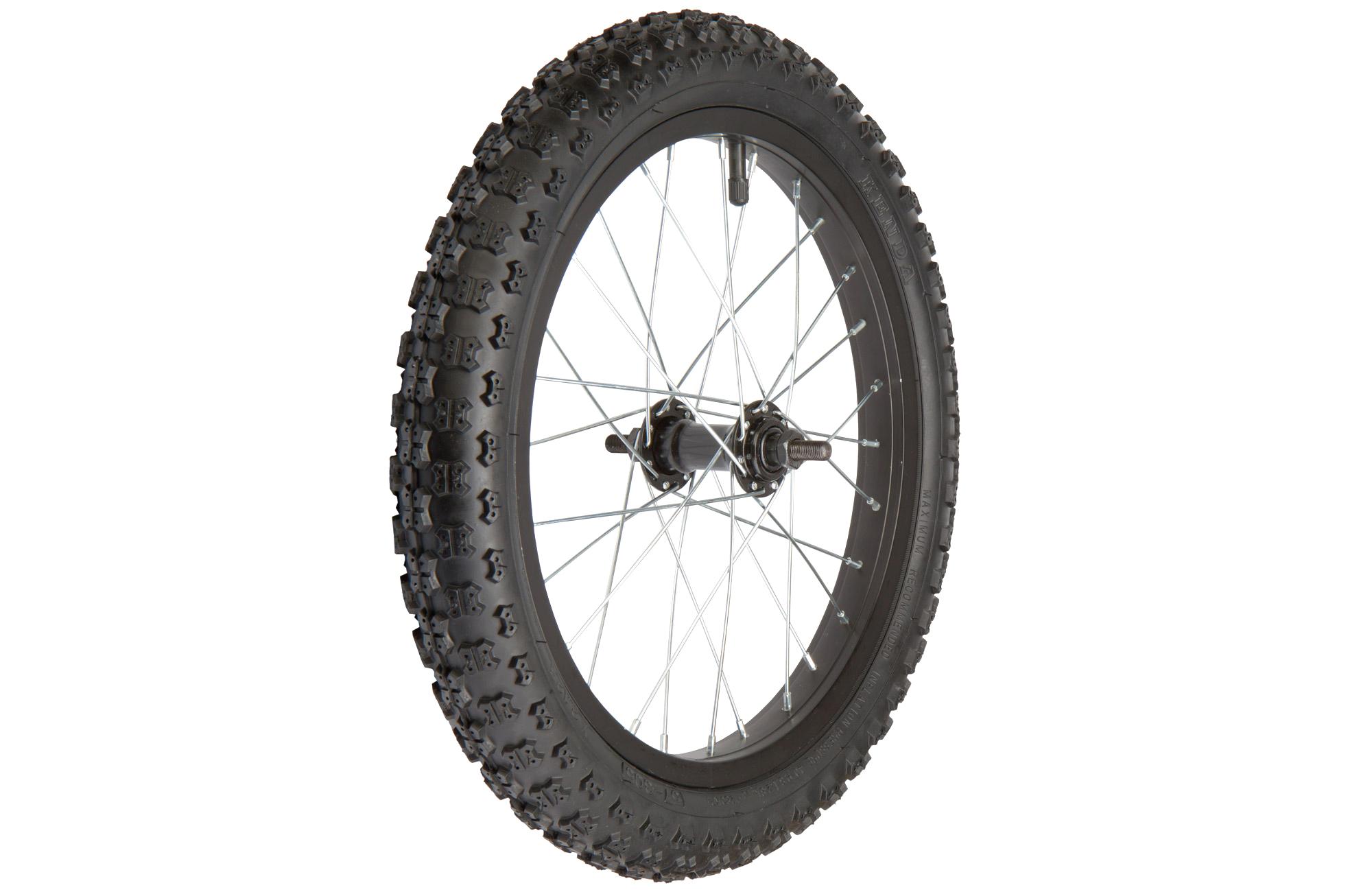 Купить Колесо 18ʺ переднее в сборе с велошиной в интернет магазине велосипедов. Выбрать велосипед. Цены, фото, отзывы