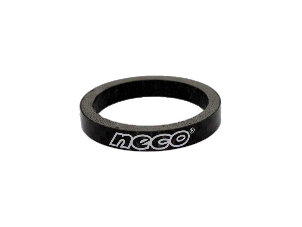 Кольцо регулировочное Neco 1ʺ1/8 х 5мм Карбон