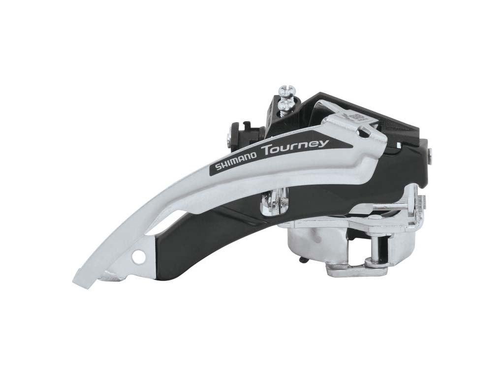 Купить Переключатель передний Shimano FD-TX50 ун. тяга в интернет магазине велосипедов. Выбрать велосипед. Цены, фото, отзывы
