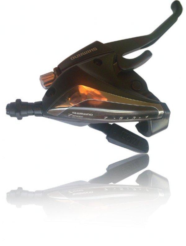 Купить Шифтер+торм.ручка EF 60-7R в интернет магазине велосипедов. Выбрать велосипед. Цены, фото, отзывы