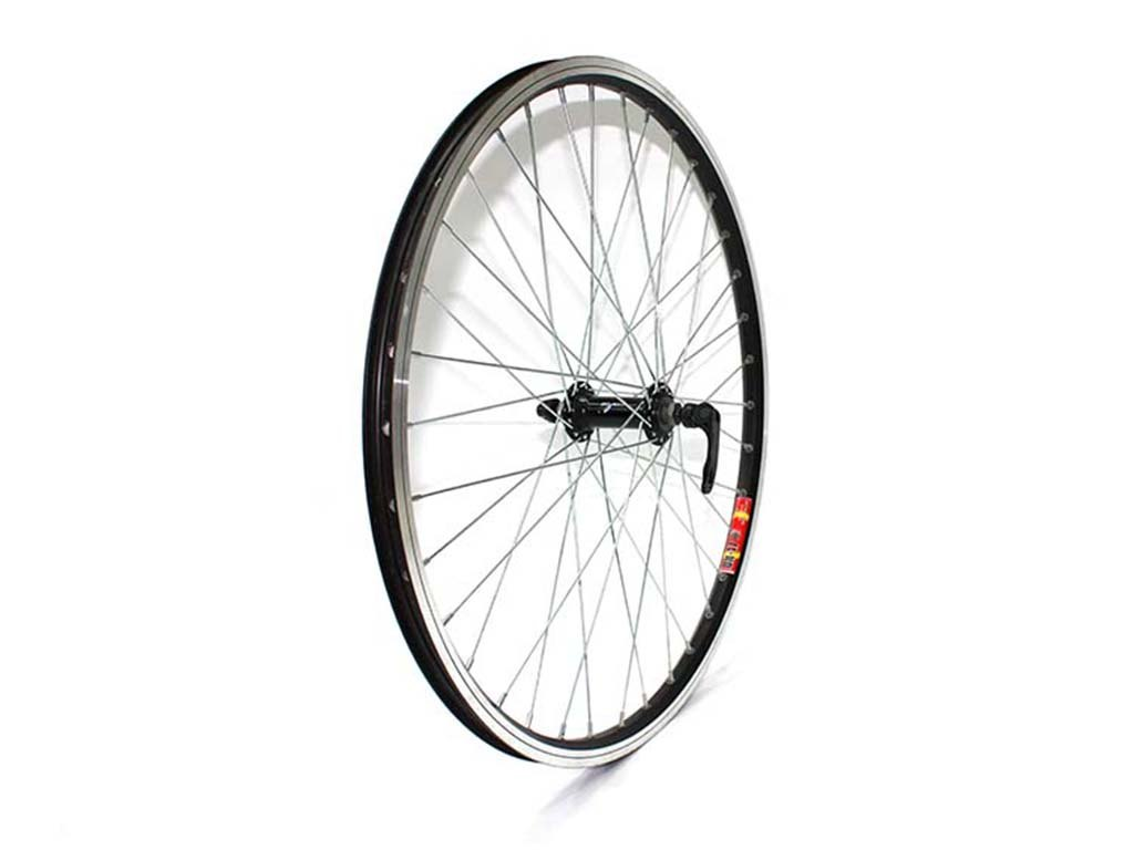 Купить Колесо переднее 24ʺ в сборе 36H, QR в интернет магазине велосипедов. Выбрать велосипед. Цены, фото, отзывы