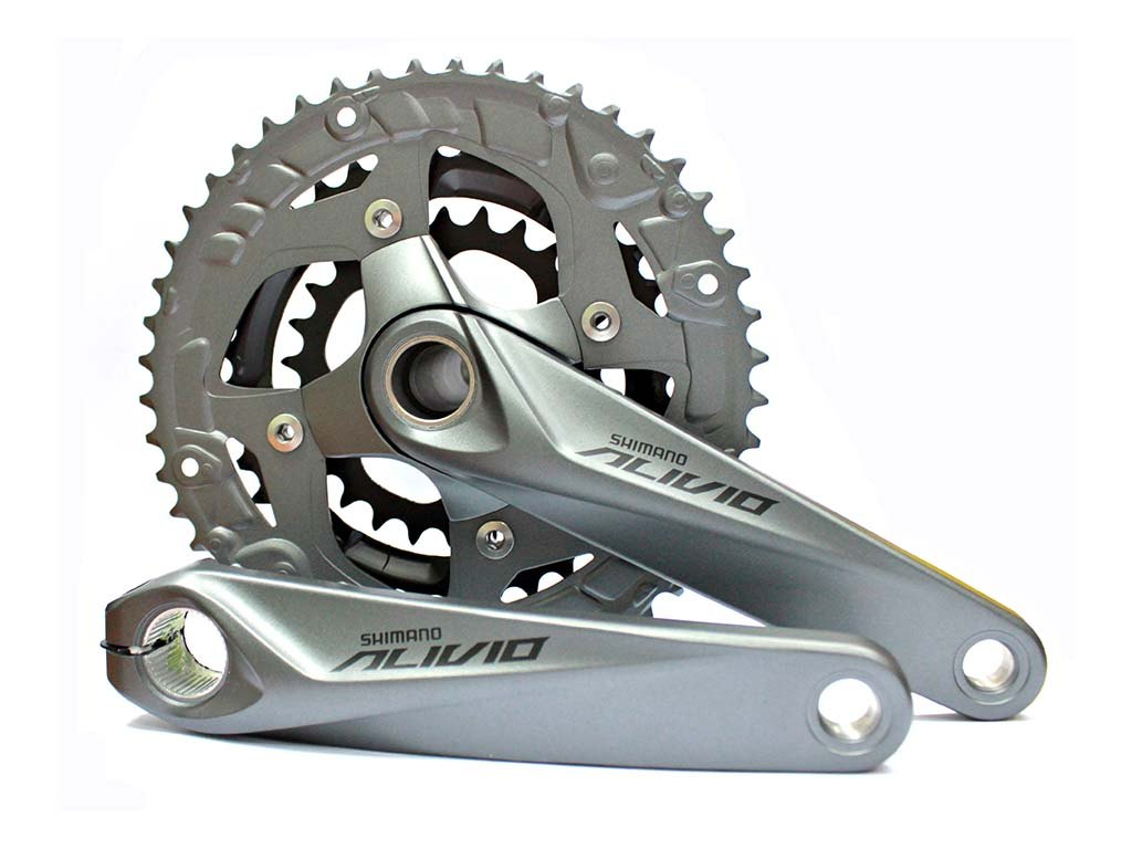 Купить Система Shimano Alivio FC-M4060, 175мм, 48ኀቶT, 9ск. в интернет магазине велосипедов. Выбрать велосипед. Цены, фото, отзывы