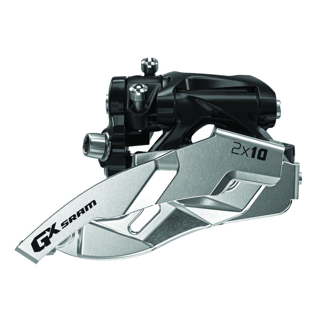 Переключатель передний SRAM GX 2x10ск. нижн.хомут 38/36T