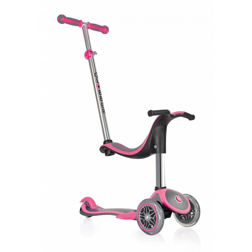 Купить Самокат Globber Evo 4 in 1 Plus в интернет магазине велосипедов. Выбрать велосипед. Цены, фото, отзывы