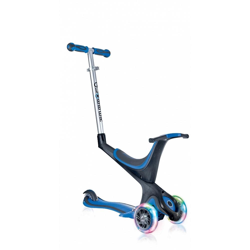 Купить Самокат Globber Evo 5 in 1 Lights в интернет магазине велосипедов. Выбрать велосипед. Цены, фото, отзывы