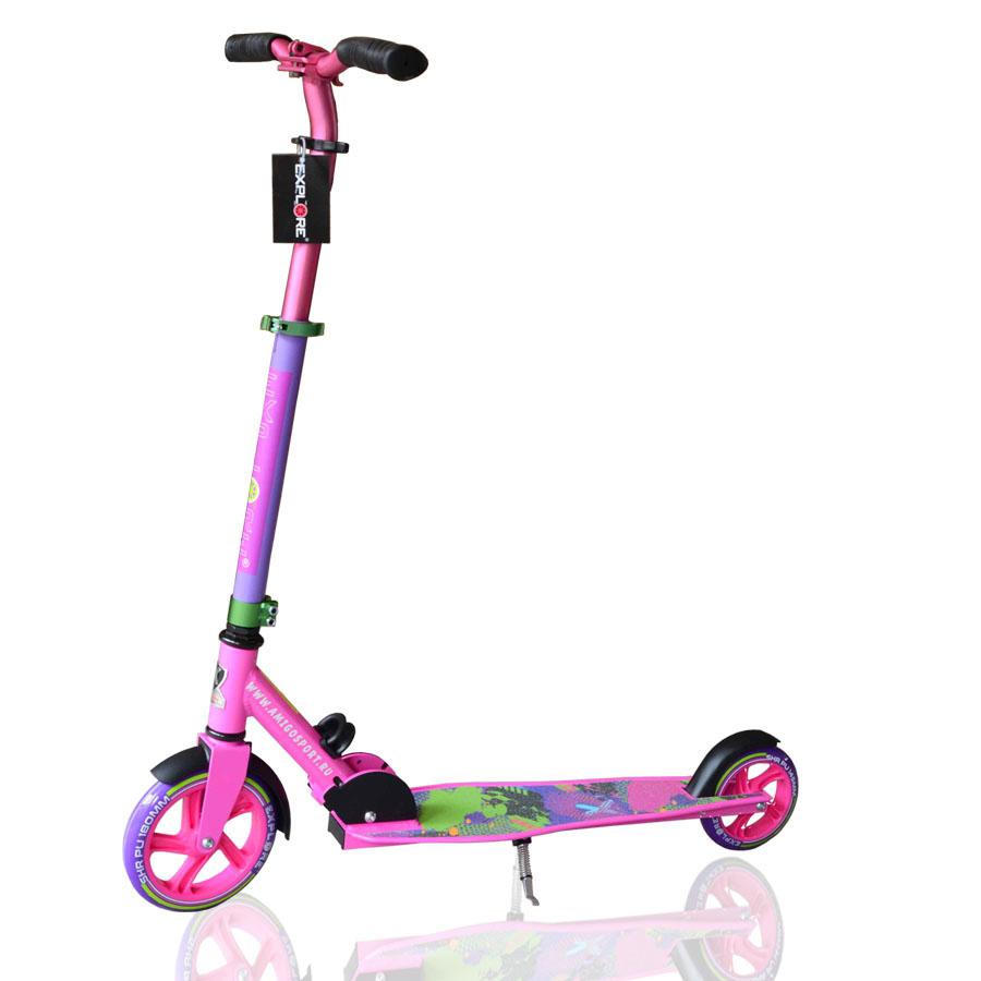 Купить Самокат Explore Degree 3 в интернет магазине велосипедов. Выбрать велосипед. Цены, фото, отзывы