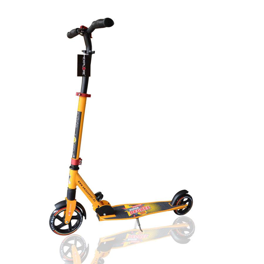 Купить Самокат Explore Degree 3S в интернет магазине велосипедов. Выбрать велосипед. Цены, фото, отзывы