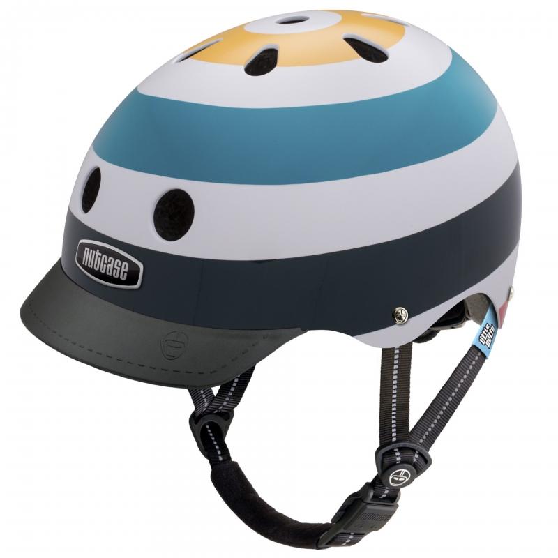 Шлем защитный Nutcase Little Nutty Radio Wave