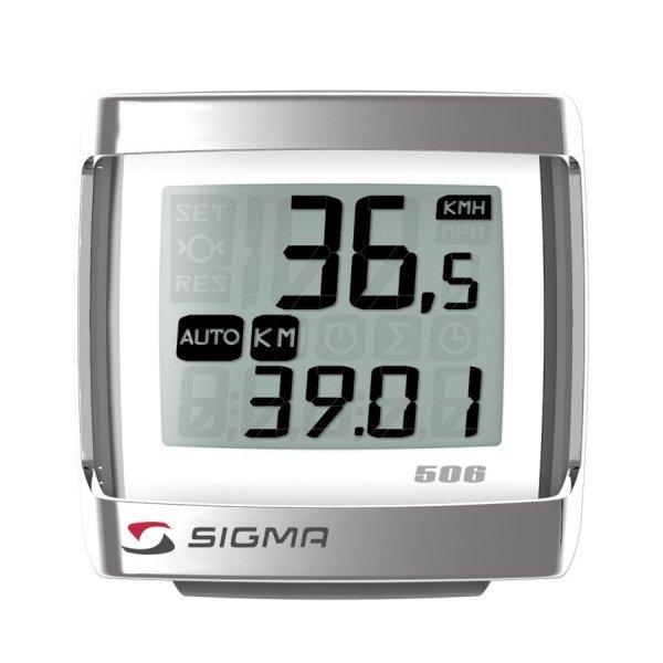 Купить Велокомпьютер Sigma BC-506 в интернет магазине велосипедов. Выбрать велосипед. Цены, фото, отзывы