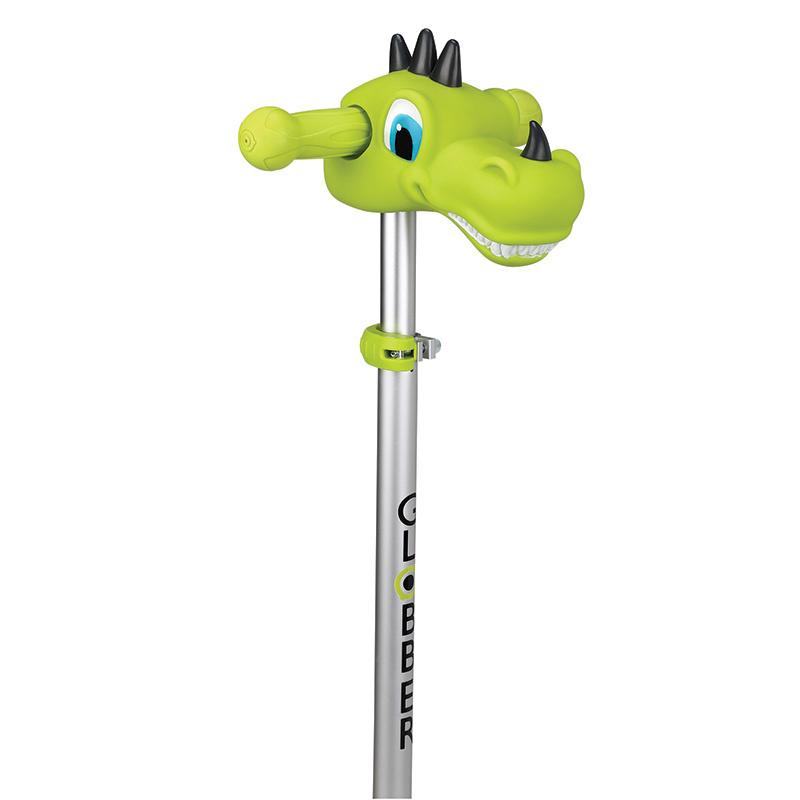 Декоративный элемент руля самоката Globber Динозавр