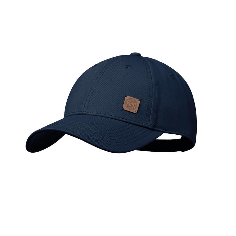 Кепка Buff Baseball Cap Solid Solid Navy (117197.787.10.00)