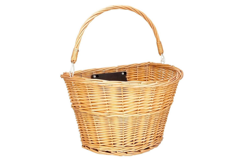 Велокорзина Schwinn Wicker basket плетеная