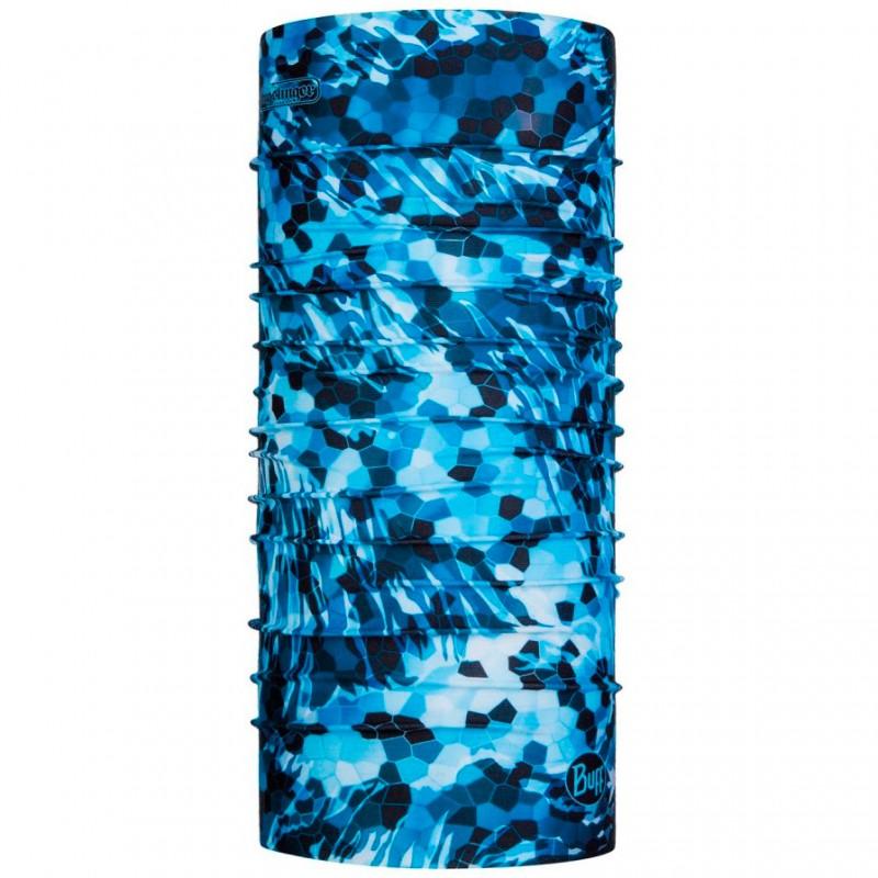 Бандана Buff Bugslinger CoolNet UV+Mosaic Camo Marine Blue (119445.707.10.00)