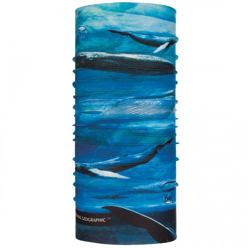 Бандана Buff National Geographic CoolNet UV+ BlueWhale (120099.707.10.00)
