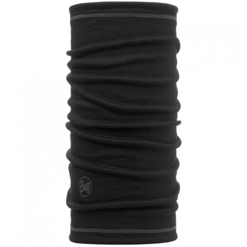 Бандана Buff Lightweight 3/4 Merino Wool Solid Black (117064.999.10.00)